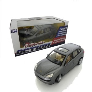 PORSCHE CAYENNE S 1/24 CALIFORNIA ACTION 68241A