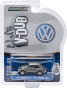 1940 Volkswagen Fusca Type 1 Split Window Beetle Club V-Dub 1/64 Greenlight 29820