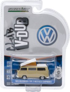 1970 Volkswagen Kombi Type 2 Westfalia Campmobile Club V-Dub 1/64 Greenlight 29820