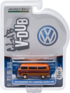 1978 VOLKSWAGEN KOMBI TYPE 2 CHAMPAGNE EDITION II BUS CLUB V-DUB 1/64 GREENLIGHT 29820