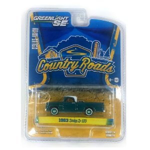 1963 Dodge D-100 Country Roads Serie 14 1/64 Greenlight 29830