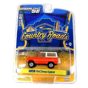 1976 Ford Bronco Explorer Country Roads Serie 14 1/64 Greenlight 29830