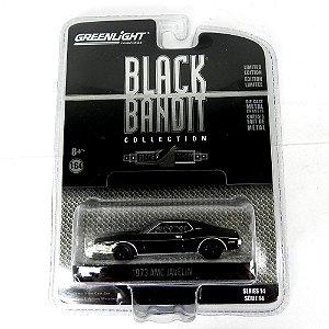 1973 Amc Javelin Black Bandit Serie 14 1/64 Greenlight 27840