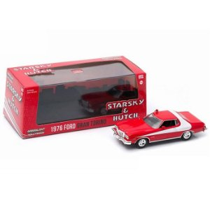 1976 FORD GRAN TORINO STARSKY & HUTCH 1/43 GREENLIGHT HOLLYWOOD 86442