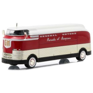 ÔNIBUS 1940 GENERAL MOTORS FUTURLINER PARADE OF PROGRESS 1/64 GREENLIGHT 29832
