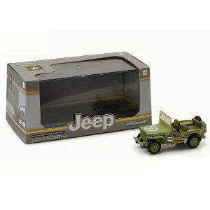 JEEP WILLYS MB U.S. ARMY 1/43 GREENLIGHT 86307