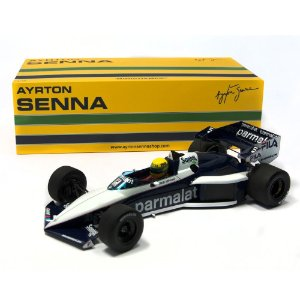 BRABHAM BMW BT52B TEST PAUL RICARD NOVEMBER 14 TH AYRTON SENNA 1983 1/18 MINICHAMPS 540831899