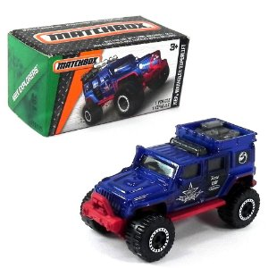 JEEP WRANGLER SUPERLIFT 1/64 MATCHBOX MBX EXPLORERS MATCHDNK97