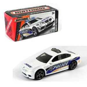 BMW M5 POLICE 1/64 MATCHBOX MBX HEROIC RESCUE MATCHDNK94