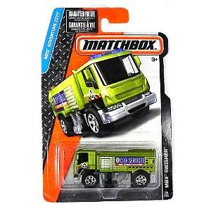 Caminhão Bombeiro Mbx Swisher 1/64 Matchbox Mbx Adventure City Matchdjv73-2B10