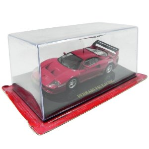 FERRARI F40 COMPETIZIONE RACING FERRARI COLLECTION + FASCÍCULO 28 1/43 EAGLEMOSS