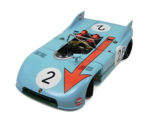 Porsche 90 / 3 Nurbergring 1971 Bel / Iffert #2 1/18 Auto Art Aut87173