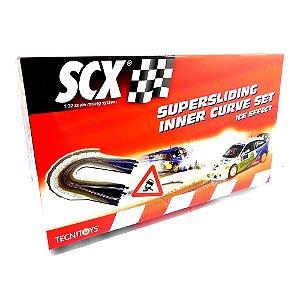 CURVA SUPER DESLIZANTE EFEITO NEVE SCX SCX88620