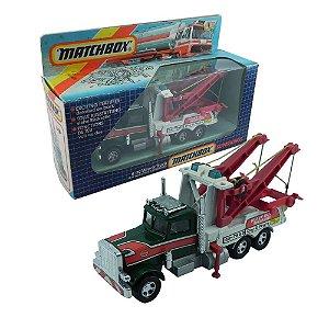 CAMINHÃO K-20 WRECK TRUCK LKW SCHLEPPER DEPANNEUSE 1/50 MATCHBOX MATCH19003