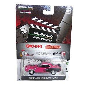 1971 Plymouth Hemi Cuda Shannon 60 Segundos 1/64 Greenlight Hollywood Serie 7 44670-X