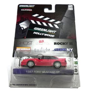 1987 FORD MUSTANG GT GHOST 1/64 GREENLIGHT HOLLYWOOD SERIE 5 44650-X