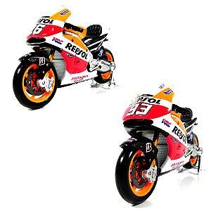 Moto 2014 Honda Repsol Rc213V Dani Pedrosa - Marc Marquez Moto Gp 1/18 Maisto 34587
