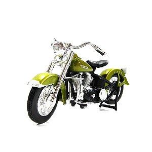 MOTO HARLEY-DAVIDSON 1953 74FL HYDRA GLIDE 1/18 MAISTO MAI31360AC