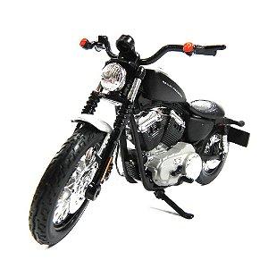 MOTO HARLEY-DAVIDSON 2008 XL 1200N SPORTSTER 1200 NIGHTSTER 1/18 MAISTO MAI31360AB