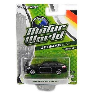 Porsche Panamera 1/64 Greenlight Motor World German Edition Series 6