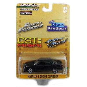 NATALIA´S DODGE CHARGER CSI 1/64 GREENLIGHT HOLLYWOOD SERIES 1 GRE44610