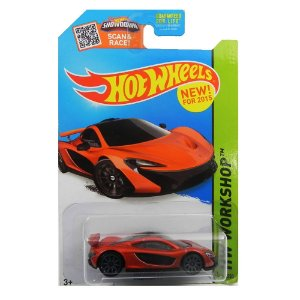 MCLAREN P1 1/64 HOT WHEELS HW WORKSHOP HOTCFH20-09B0E