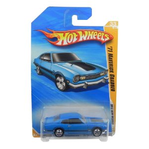 1971 FORD MAVERICK GRABBER 1/64 HOT WHEELS 2010 NEW MODELS HOTR0953-A910J