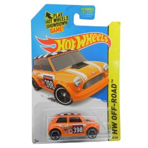 MORRIS MINI 1/64 HOT WHEELS HW OFF-ROAD HOTCFK35-09B0D