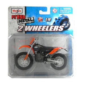 MOTO KTM 450 EXC 1/18 MAISTO 2 WHEELERS MAI35300