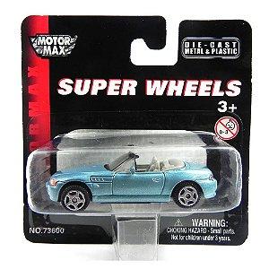 Bmw Z3 1/64 Motor Max Super Wheels Mm73600