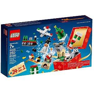 LEGO CHRISTMAS BUILD UP 24 EM 1 250 PEÇAS LEGO40222