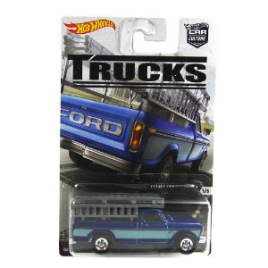 FORD F-250 1/64 HOT WHEELS TRUCKS HOTDYN96-L5104LB
