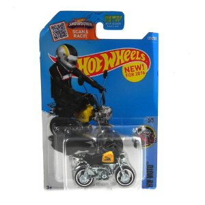 MOTO HONDA MONKEY Z50 1/64 HOT WHEELS NEW FOR 2016 HOTDHX42-D9B0P