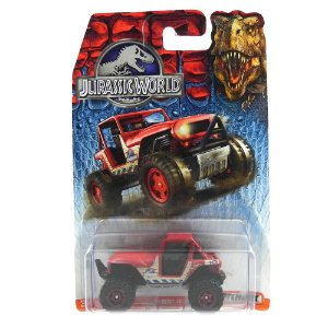 MBX 4X4 1/64 MATCHBOX JURASSIC WORLD MATCHDFT57-0910