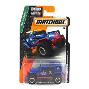 JEEP WRANGLER SUPERLIFT 1/64 MATCHBOX MBX EXPLORERS MATCHDJW47-2B10