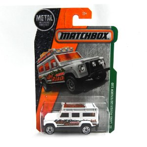 LAND ROVER DEFENDER 110 1/64 MATCHBOX MATCHDJW38-2B10
