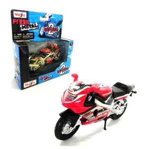 MOTO SUZUKI HAYABUSA GSX-R1000 1/18 2 WHEELERS MAISTO 31300