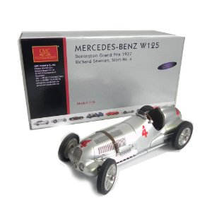 MERCEDES-BENZ W125 DONINGTON GRAND PRIX 1937 RICHARD SEAMAN STAR NR. 4 1/18 CMC M-116