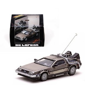 DELOREAN BACK TO THE FUTURE DE VOLTA PARA O FUTURO 1/43 SUN STAR VITESSE 24012 SUN24012
