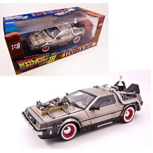 DELOREAN TIME MACHINE BACK TO THE FUTURE III (DE VOLTA PARA O FUTURO 3) 1/18 SUN STAR 2712 SUN2712