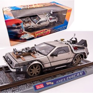 DELOREAN RAILROAD VERSION BACK TO THE FUTURE III (DE VOLTA PARA O FUTURO 3) 1/18 SUN STAR 2714 SUN2714