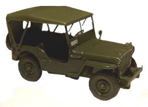 JEEP WILLYS MB 1/43 DEAGOSTINI JEEPWILLYSMB