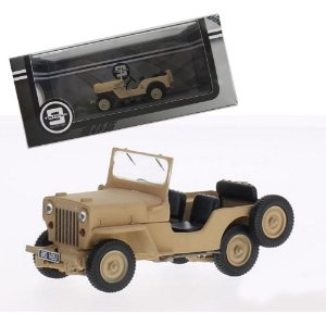 1953 JEEP WILLYS CJ3B 1/43 PREMIUMX TRIPLE 9 COLLECTION T9-43039
