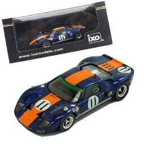 FORD GT40 #11 J. ICKX - D. THOMPSON CLASS WINNER 24H DAYTONA 1967 1/43 IXO GTM104 IXOGTM104