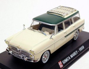 1959 SIMCA MARLY 1/43 AUTO PLUS G1193006