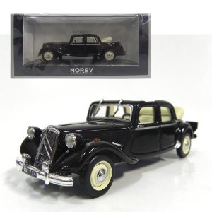 1951 CITROEN 15-SIX DÉCOURVRABLE 1/43 NOREV 153022 NOR153022