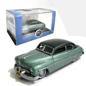 1949 MERCURY ADELIA GREEN MOGUL 1/87 OXFORD 87ME49001 OXF87ME49001