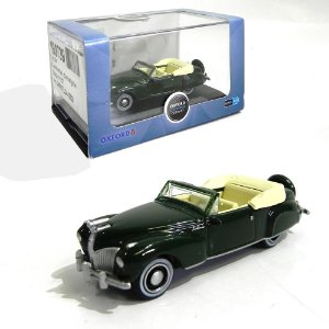 1941 LINCOLN CONTINENTAL SPODE GREEN 1/87 OXFORD 87LC41002 OXF87LC41002