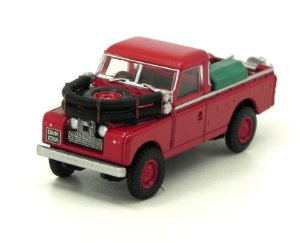 LAND ROVER SERIES II FIRE APPLIANCE 1/76 OXFORD 76LAN2004 OXF76LAN2004