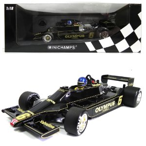 LOTUS FORD 79 RONNIE PETERSON 1978 F1 1/18 MINICHAMPS 100780006 MIN100780006